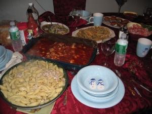 Nicholas's X-Mas dinner