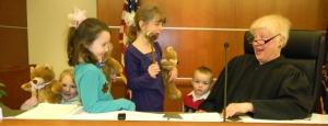 older children adoption court