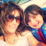 theresa turchin and son I