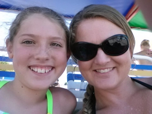 Christy Stansell and Teenaged Daughter